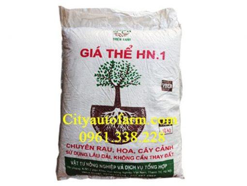 Giá thể HN1 trồng rau, cây giàu dinh dưỡng