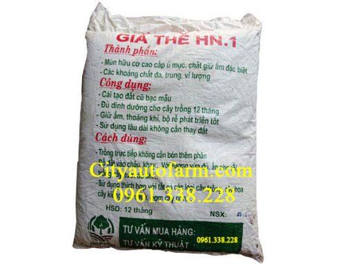 Thành phần dinh dưỡng của giá thể trồng cây hn1