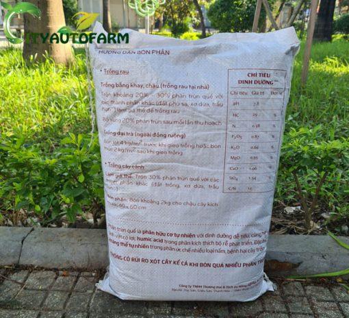 Thành phần dinh dưỡng của phần trùn quế OSG